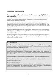 Kommenteretarbejdstidsaftale - Danmarks Lærerforening