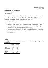 Undersøgelse om klassedeling 2010 - Danmarks Lærerforening
