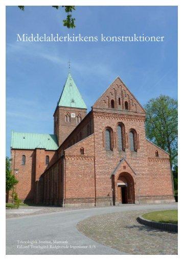 Middelalderkirkens konstruktioner - Kirkeministeriet