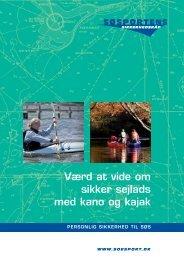 Sikker sejlads med kano og kajak - Søsportens Sikkerhedsråd