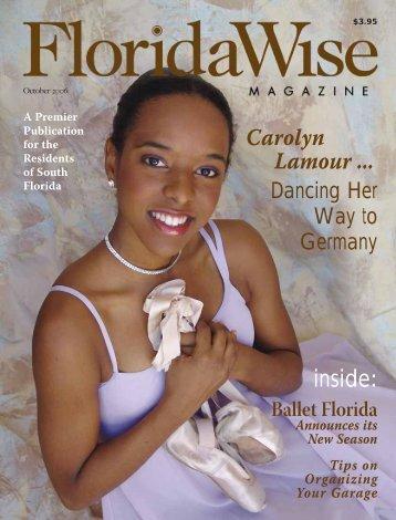 inside: Carolyn Lamour ... - Floridawise Magazine