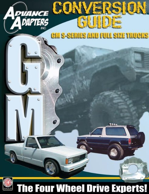 2 PCS Motor Mount Kit for Chevrolet S10 Pickup Truck with 4.3L V6 1996-2004