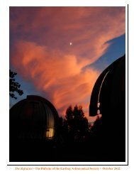 Oct - Eastbay Astronomical Society