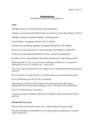 Dok.nr. 7419/13 Stillingsbeskrivelse for stillingen som provst for ...