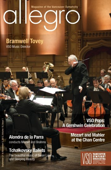 issue one - Vancouver Symphony Orchestra