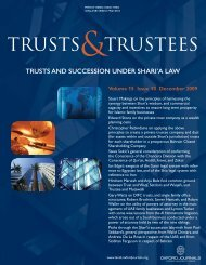 Front Matter (PDF) - Trusts & Trustees - Oxford Journals