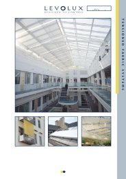Tensioned Fabric Systems - Levolux