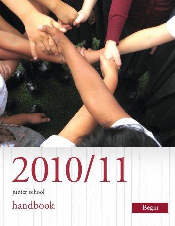 handbook - The Bishop Strachan School