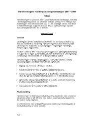 Handlingsplan 2007-2009 - Høreforeningen