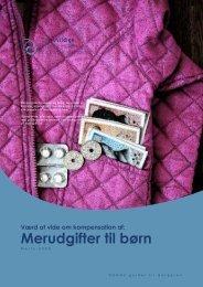 Værd at vide om kompensation af merudgifter til børn
