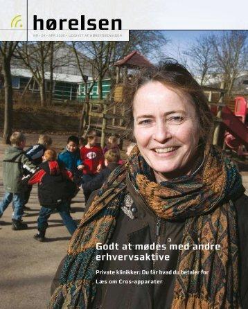 Hørelsen april 2008 - Høreforeningen