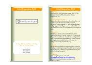 Invitation frivilligseminar 2012 - Høreforeningen