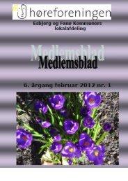 1. medlemsblad 2012 - Høreforeningen
