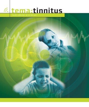tinnitus - Høreforeningen