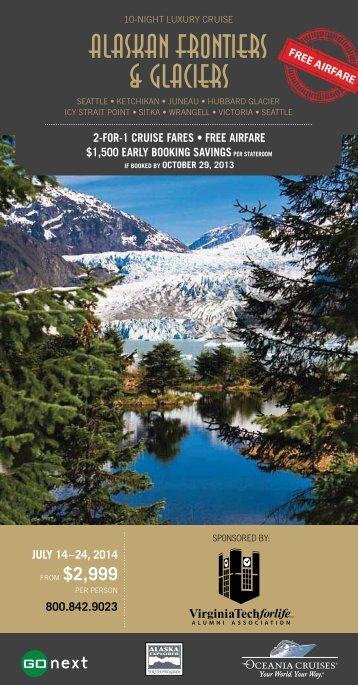 Alaskan Frontiers (PDF | 1MB) - Virginia Tech Alumni Association
