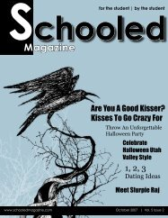 OREM! What's YOUR Excuse? CALL TODAY! - Schooled Magazine