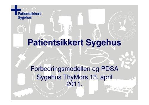 Forbedringsmodellen og PDSA - Sikker Patient