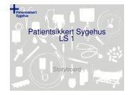 Team Sengeafdeling - Sikker Patient