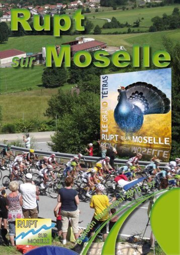 Bulletin Municipal 2013 - Ville de Rupt sur Moselle