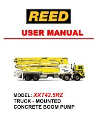 SN255-XXT42.5RZ TECHNICAL MANUAL - REED