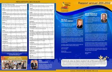 Rapport annuel 2011-2012 - Web - Nbed.nb.ca