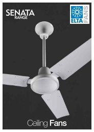 Features & Benefits Ceiling Fan HCF - Angus Air