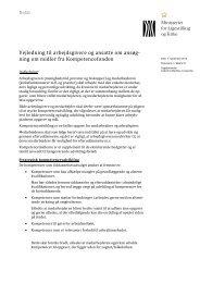 Vejledning til arbejdsgivere og ansatte om ansøg- ning om midler fra ...