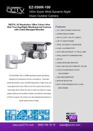 High Resolution Ex-View 3 Axis Day/Night IR VD Dome Camera