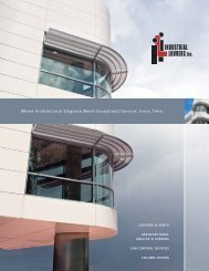 Architectural Brochure - Industrial Louvers Inc.