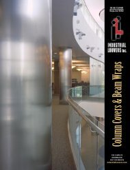 Column Covers & Beam Wraps - Industrial Louvers Inc.