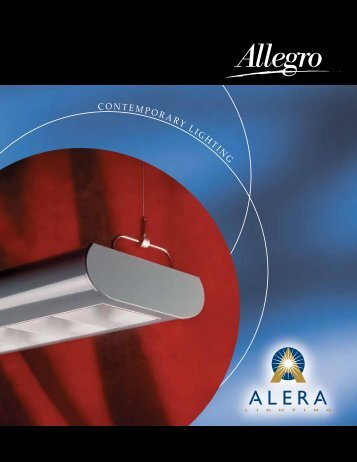 AL1035 - Allegro Brochure - Alera Lighting