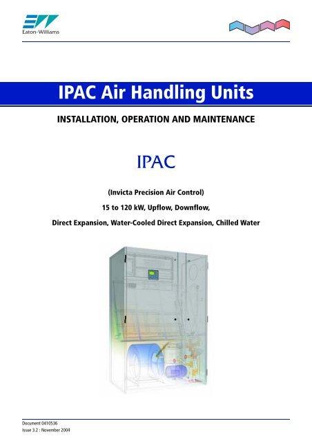 IPAC -Installation Operating & Maintenance Manual - Eaton-Williams on