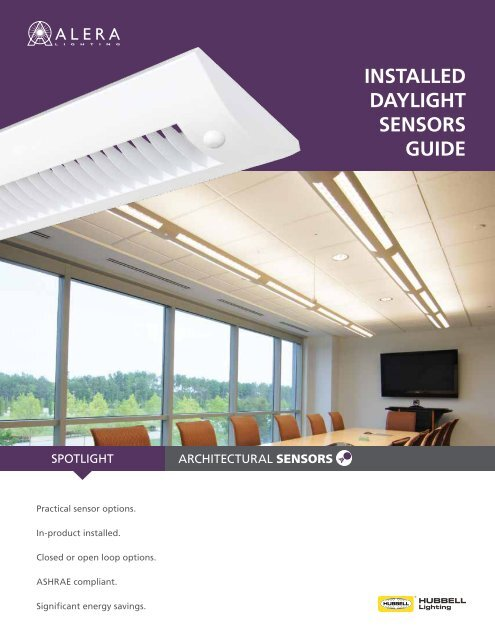 Al1072 â Installed Daylight Sensors Guide Alera Lighting