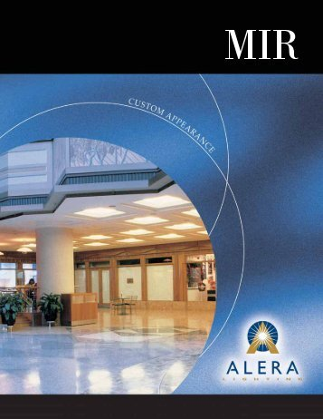 AL1031 MIR brochure - Alera Lighting