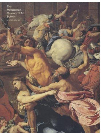 The Metropolitan Museum of Art Bulletin, v. 50, no. 3