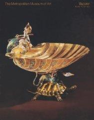 Gold: The Metropolitan Museum of Art Bulletin, v. 31, no. 2 (Winter ...