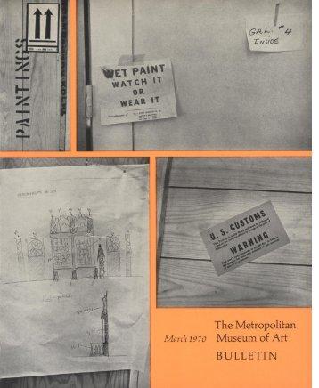 The Metropolitan Museum of Art Bulletin, v. 28, no. 7 (March, 1970)
