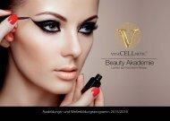 Broschüre Vitacellnetic Beauty Akademie