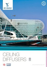 CEILING DIFFUSERS - Airmasteremirates