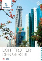 LIGHT TROFFER DIFFUSERS - Airmaster Equipments Emirates