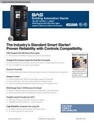Cerus 3 phase Motor Starters - R.L. Craig Company, Inc.