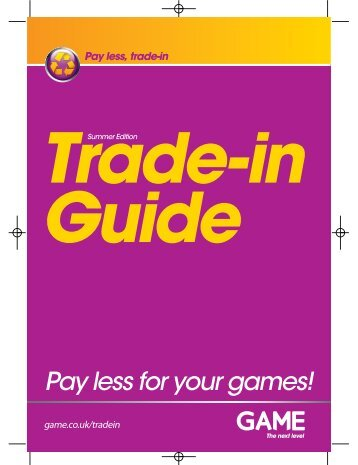Pay less, trade-in - Game