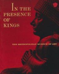 In the Presence of Kings - Metropolitan Museum of Art