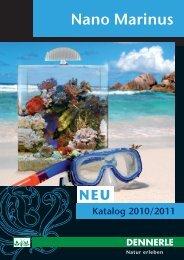 Nano Marinus Katalog 2010/2011 (PDF, ca. 5 - Dennerle