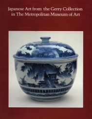 Japanese Art from the Gerry Collection in The Metropolitan Museum ...