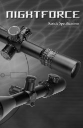 NF 90653 ReticleBooklet.Final - Tac Pro Shooting Center