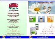 Produkte PDF - Glückspilz Gesundheitsforum