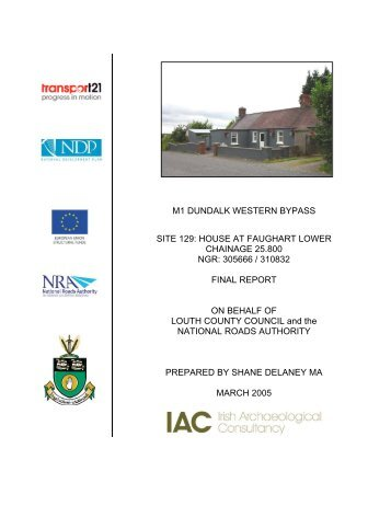 House at Faughart Final Report - ASI Louth