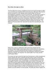 River Bain, Donington-on-Bain The River Bain flows along a ...