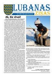 2013. gada 2. numurs - Lubānas novads